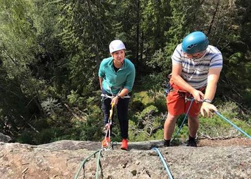 Introduksjons klatrekurs