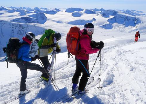 Guidede turer skiguiding