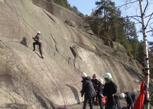 Opplevelse i klatreveggen