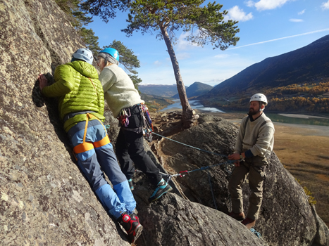 Videregående klatrekurs Hemsedal