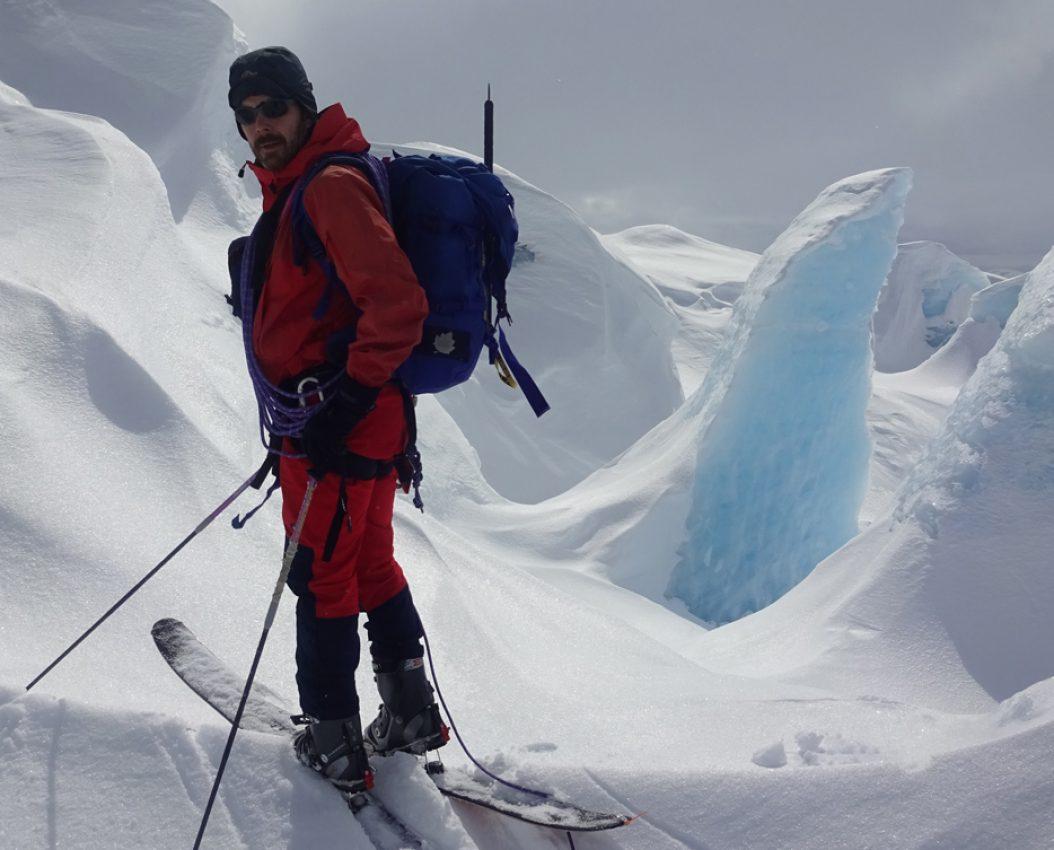 Alpin skiferdsel