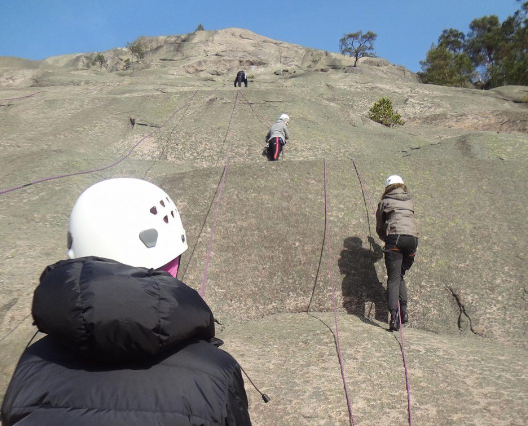 Introduksjon til klippeklatring