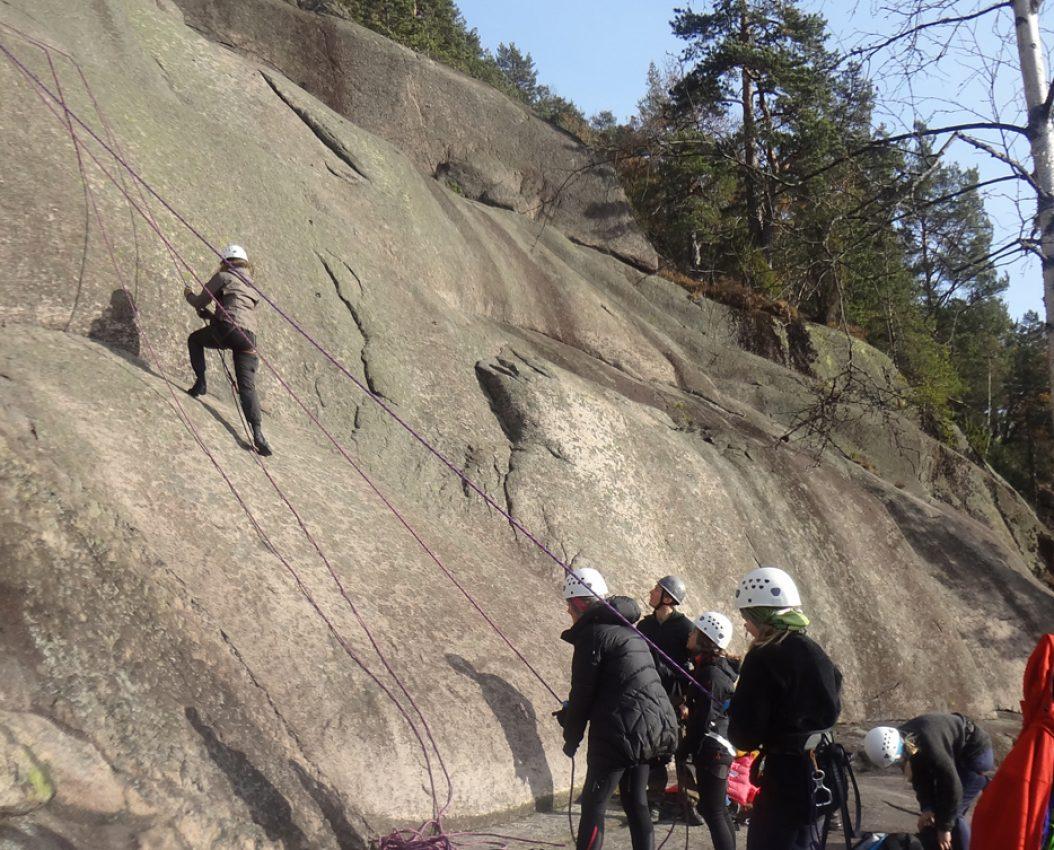 Introduksjon til klippeklatring Oslo