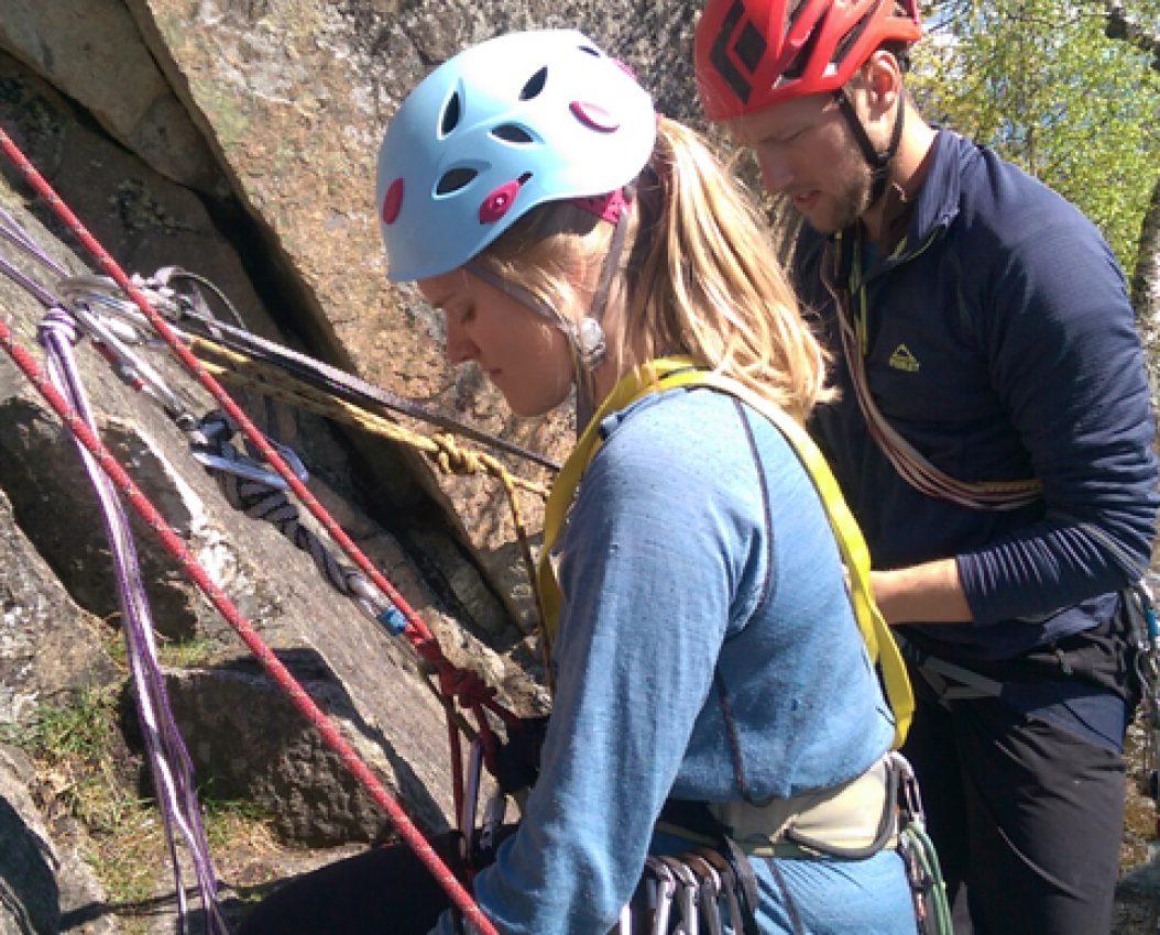 Kameratredning klatreing
