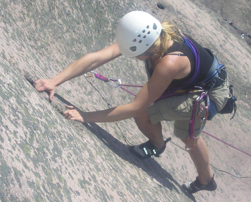 Nybegynnerkurs klatring leding