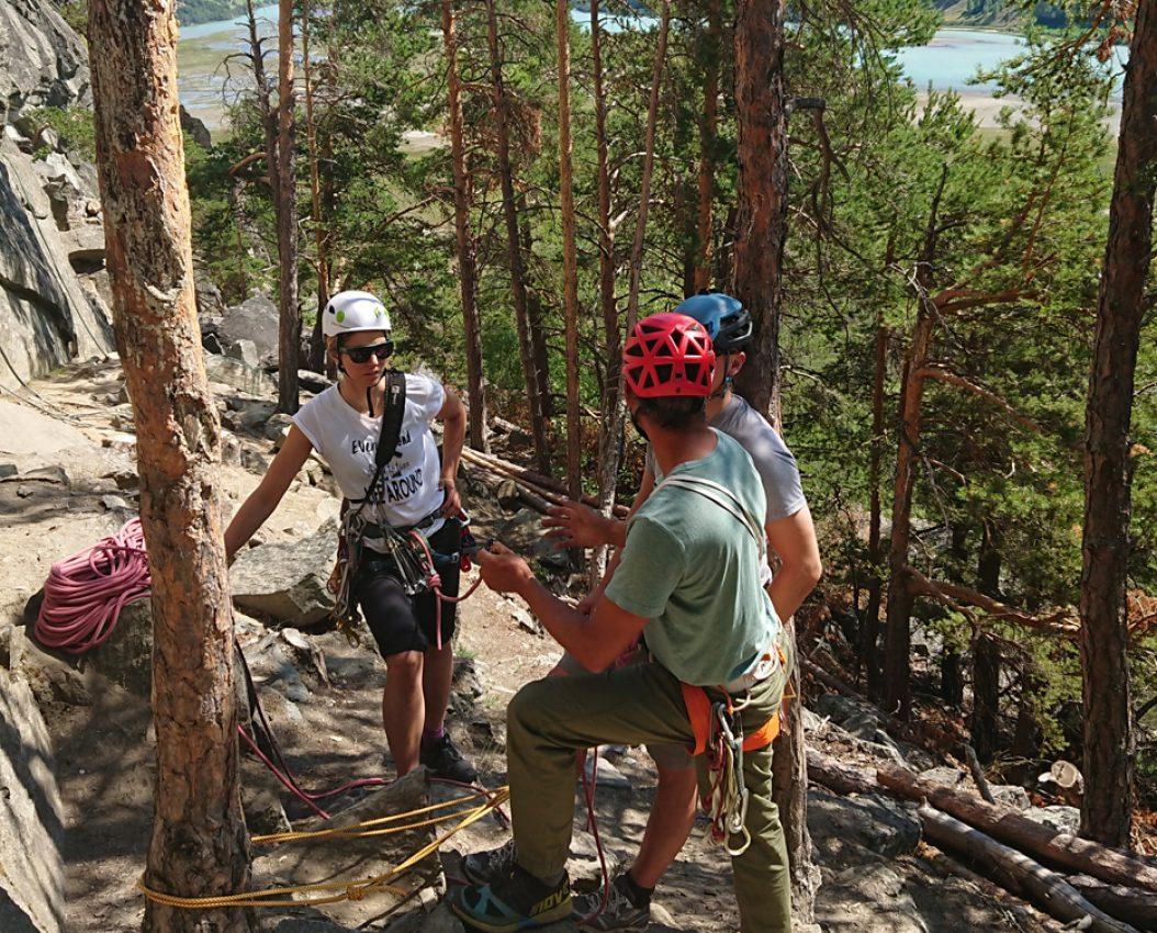 Kurs i klatring
