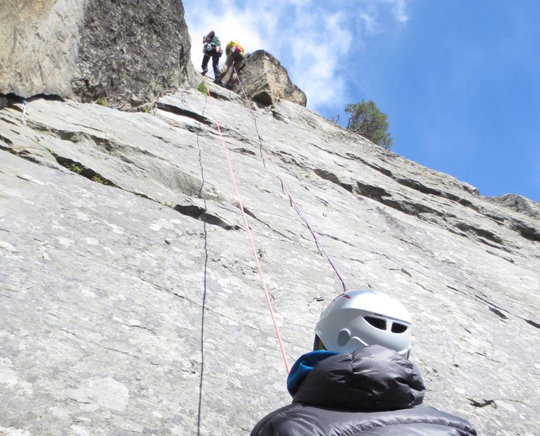 Kurs i klatring rappell