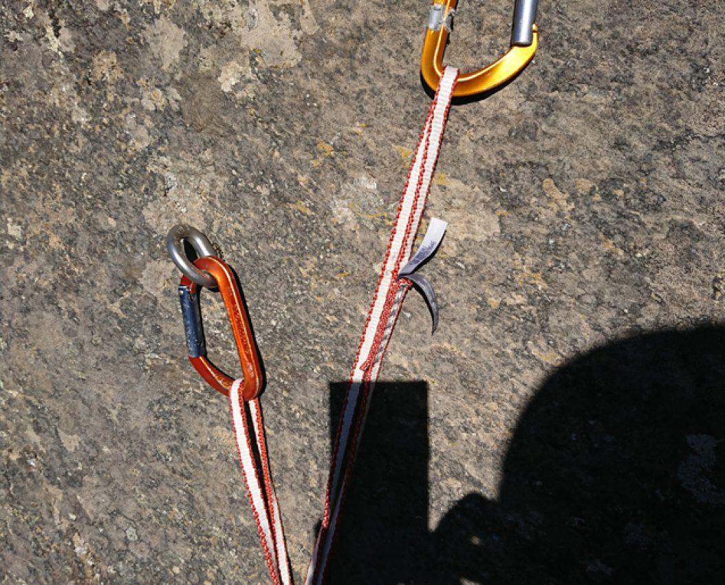 Topptaufeste kurs i klatring