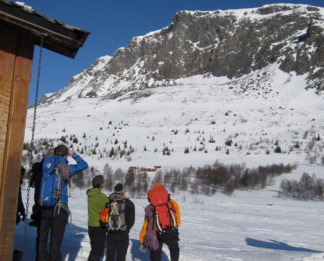 Alpint klatrekurs ruteoversikt