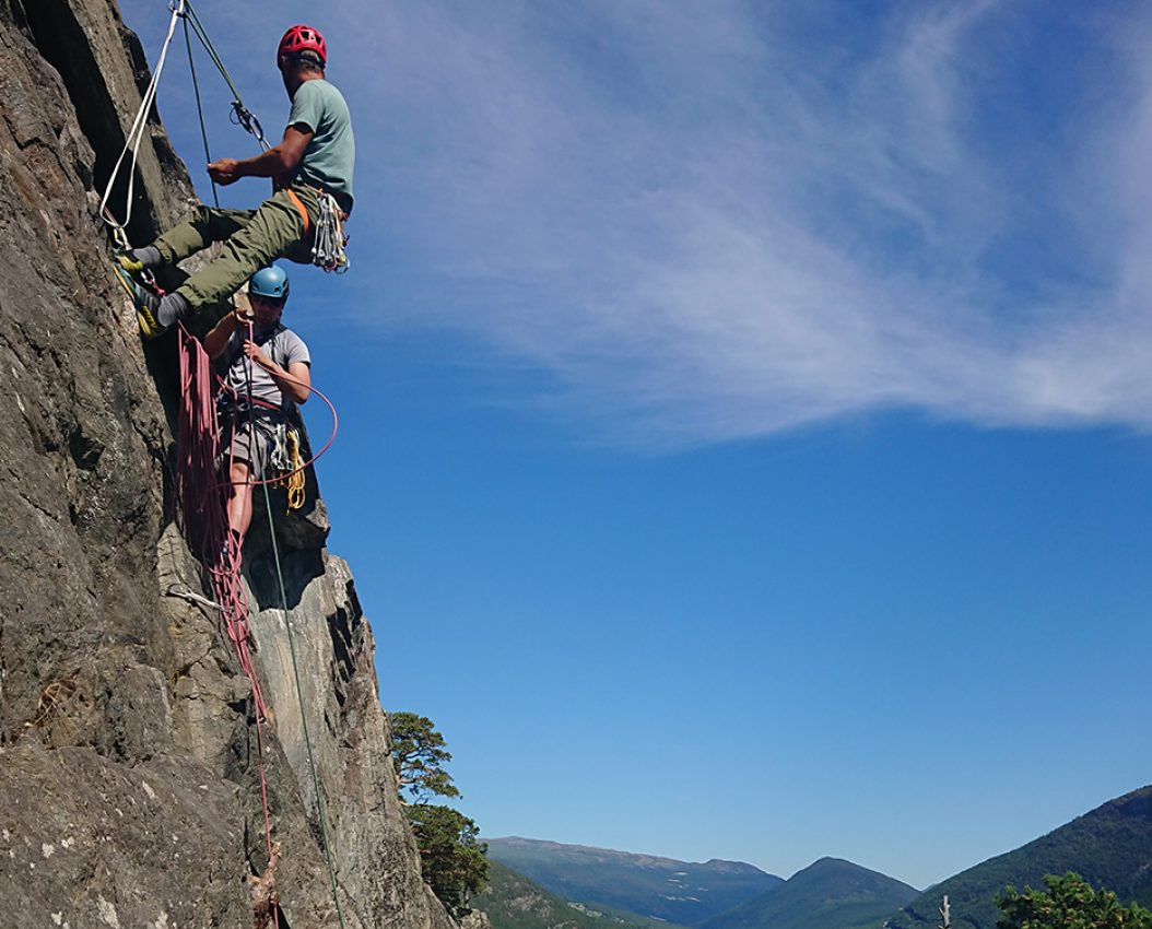 Videregående klatrekurs
